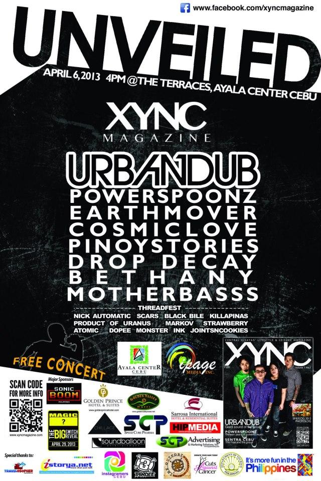 Unveiled : Xync Magazine Free Concert