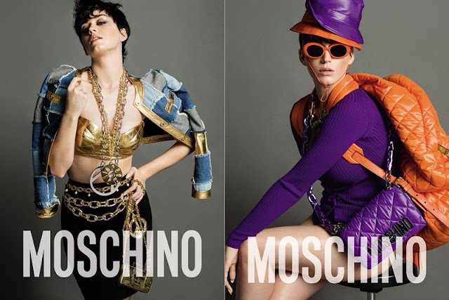 MOSCHINO Autumn Winter 2015 2016, Moschino, Katy Perry, creative director, Jeremy Scott, photographer, Inez, Vinoodh, stylist, Carlyne Cerf De Dudzeele, hair Garren, make-up, Sammy Mourabit