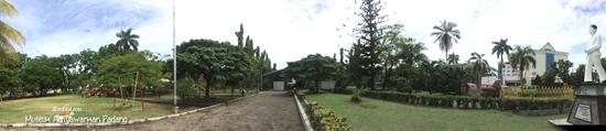 View keseluruhan Taman melati Padang
