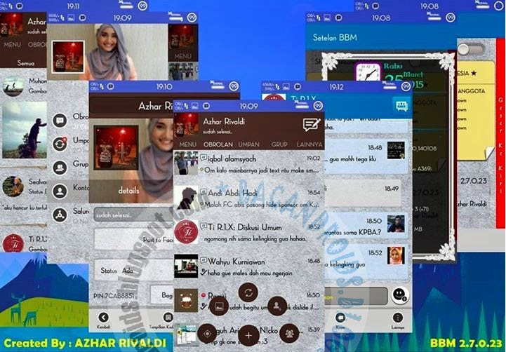 download BBM Mod Path Style Floating Menu With Time Color 2.7.0.23