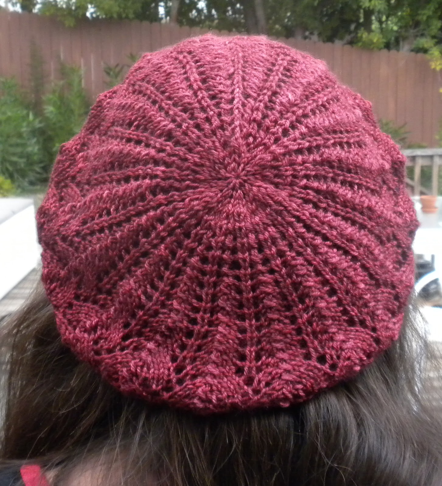 Knitting Pattern For Beret With Straight Needles : Nartian Knits