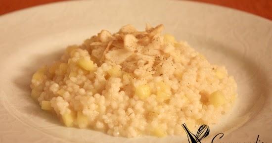 Mini arroz com maçã