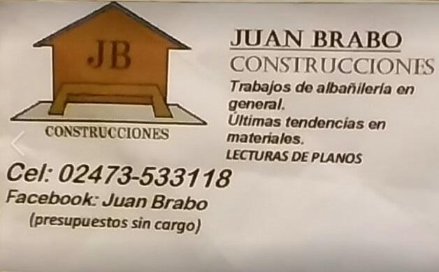 JUAN BRABO CONSTRUCCIONES
