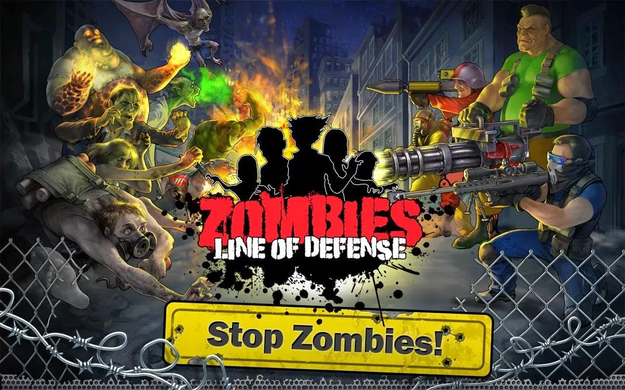Zombies: Line of Defense – TD v1.2 [Mod Money]
