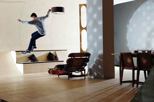 Skaters' Dream Home Seen On www.coolpicturegallery.us