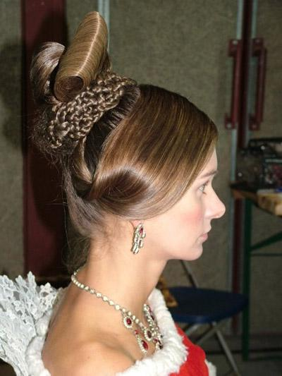 bridal hairstyle party hair styles