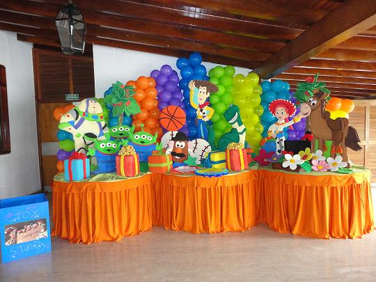 Fiestas infantiles toy story parte 2 - Ideas para cortinas infantiles ...