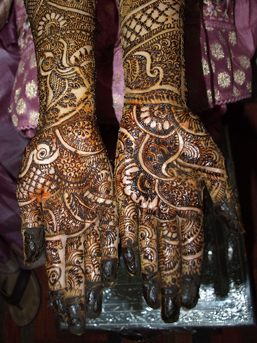Mehndi Designs Full Hands Marriage : Latest full hand mehndi desings