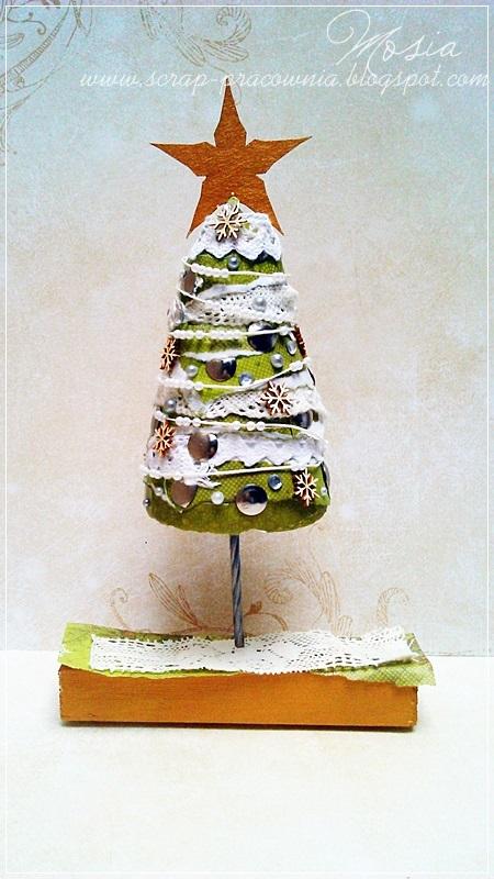 choinka / a Christmas tree