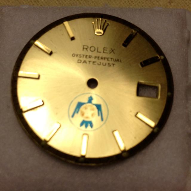 USAF Thunderbird logo Rolex dial