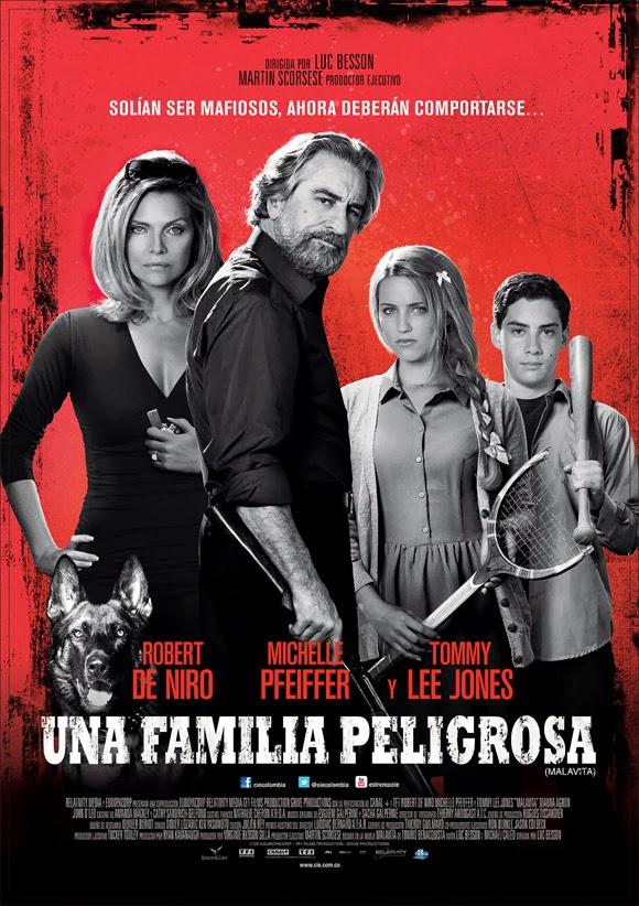 una-familia-peligrosa-poster
