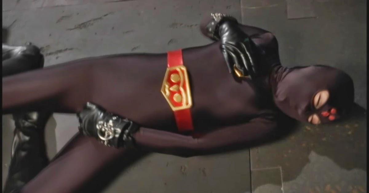 Super heroine turn evil