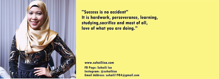 Suhaili Isa - Premium Beautiful Agent KL, Engineer & Lifestyle Blogger