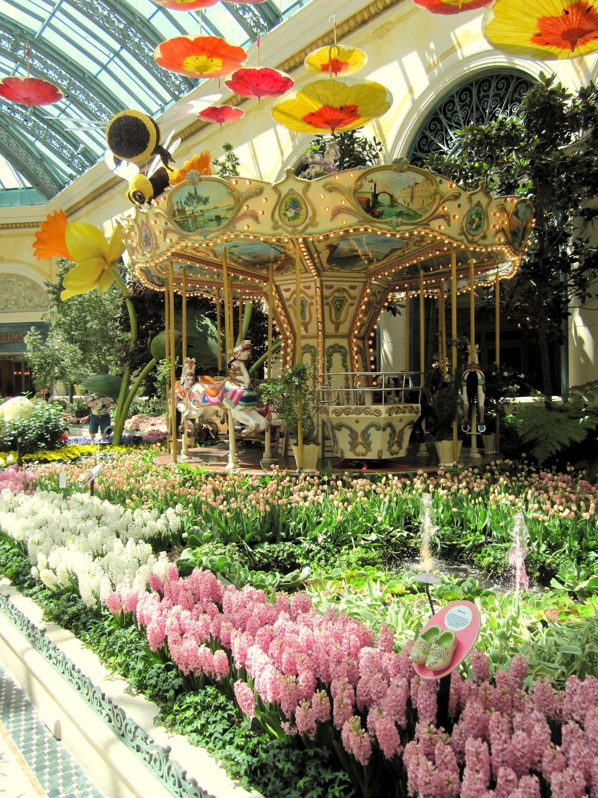 Bellagio Conservatory And Botanical Gardens Las Vegas