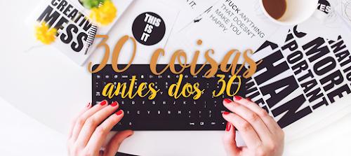 30 coisas antes dos 30