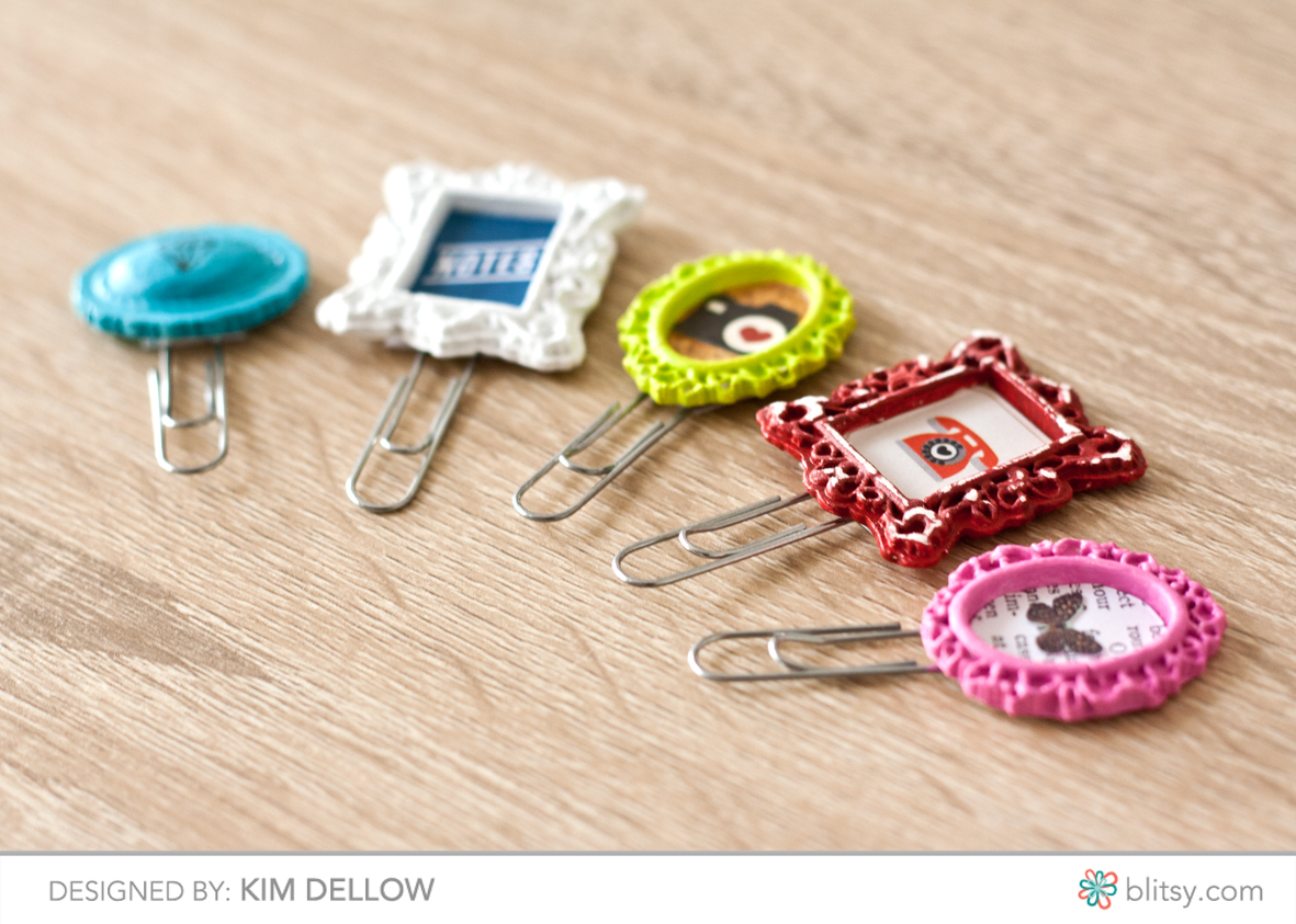 Make your own paperclip embellishments