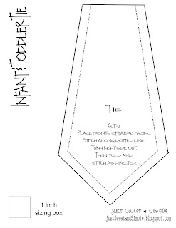 Pattern For A Baby Necktie Sewing Patterns For Baby