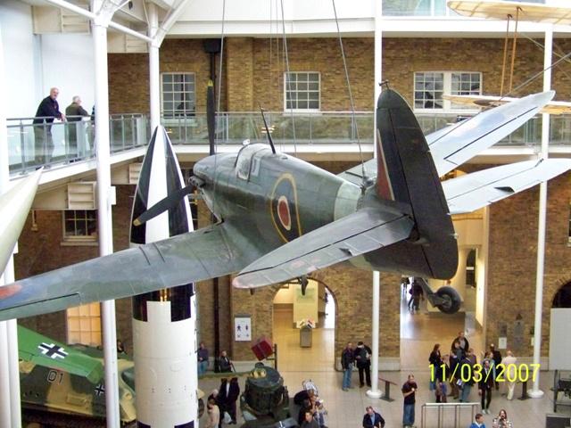 Spitfire en el Imperial War Museum de Londres
