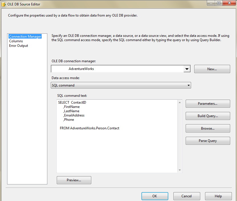 Loop through each record in a SSIS in-memory ADO Recordset Table