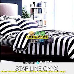Harga Sprei Katun Star 100×200 Star Line Onyx Jual