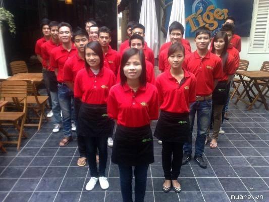 Chuyên may các loại đồng phục cho nhà hàng