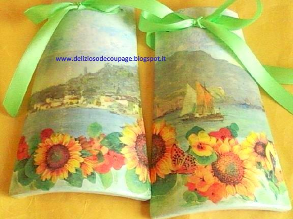 Delizioso d coupage d coupage e decorazioni creative su - Decorazioni decoupage ...