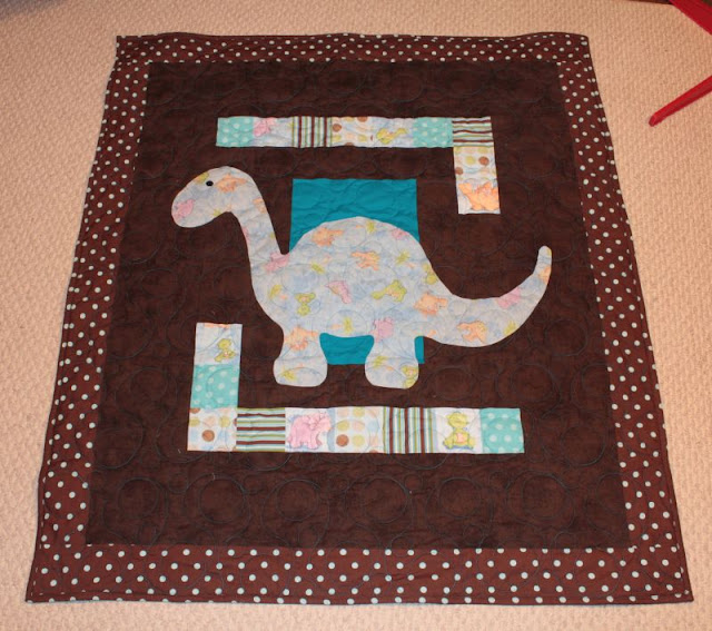 Dino Baby Quilt