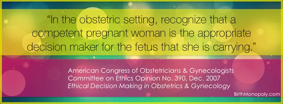 acog, vbac, cottonwood az, hospital birth, cesarean section, journey of life, natural birth