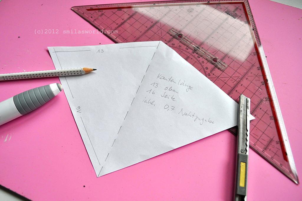 smila s world blog tutorial wimpelkette. Black Bedroom Furniture Sets. Home Design Ideas