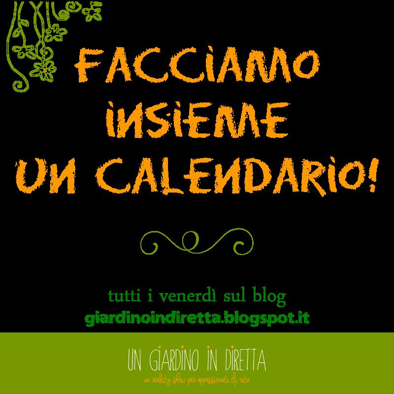 facciamo insieme un calendario!