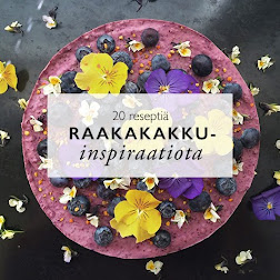 Raakakakku-suosikit