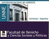 Dependiente de la Facultad de Derecho y Ciencias Sociales y Politicas de la UNNE