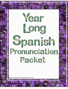 http://www.teacherspayteachers.com/Product/Spanish-Year-Long-Weekly-Pronunciation-Speaking-Activities-859303