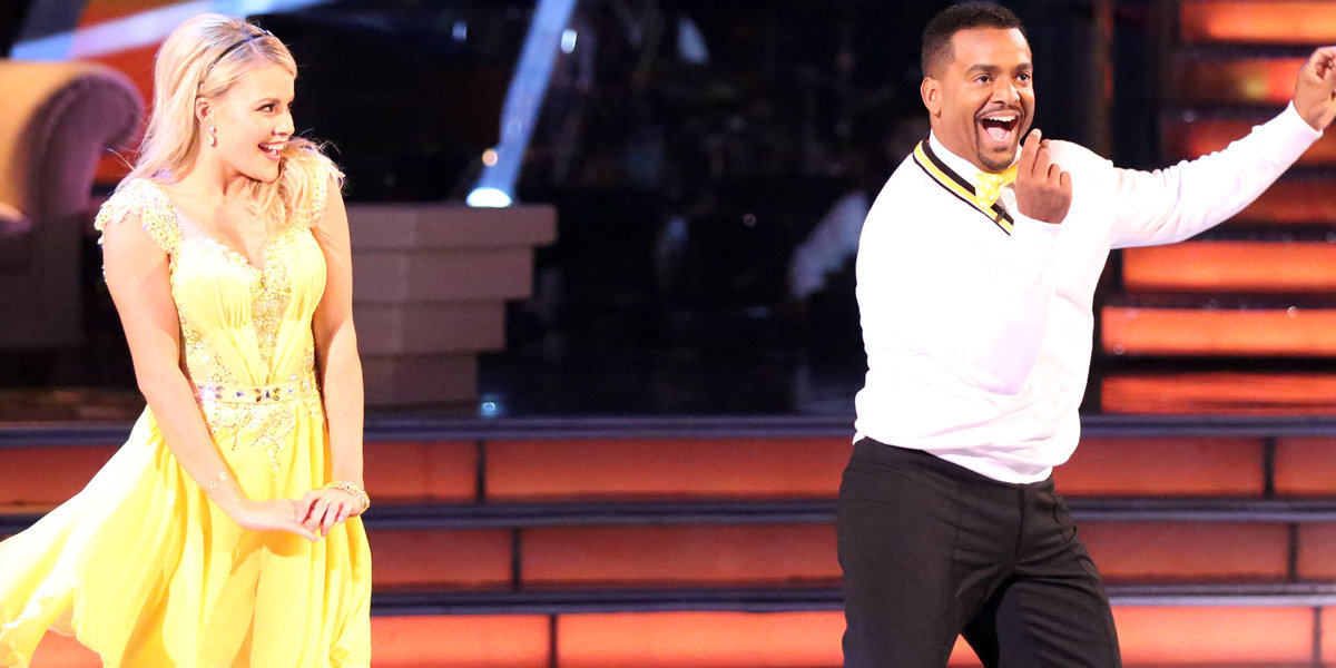 Alfonso Ribeiro doing The Carlton on Dancing with the Stars :: Ribbons Down My Back