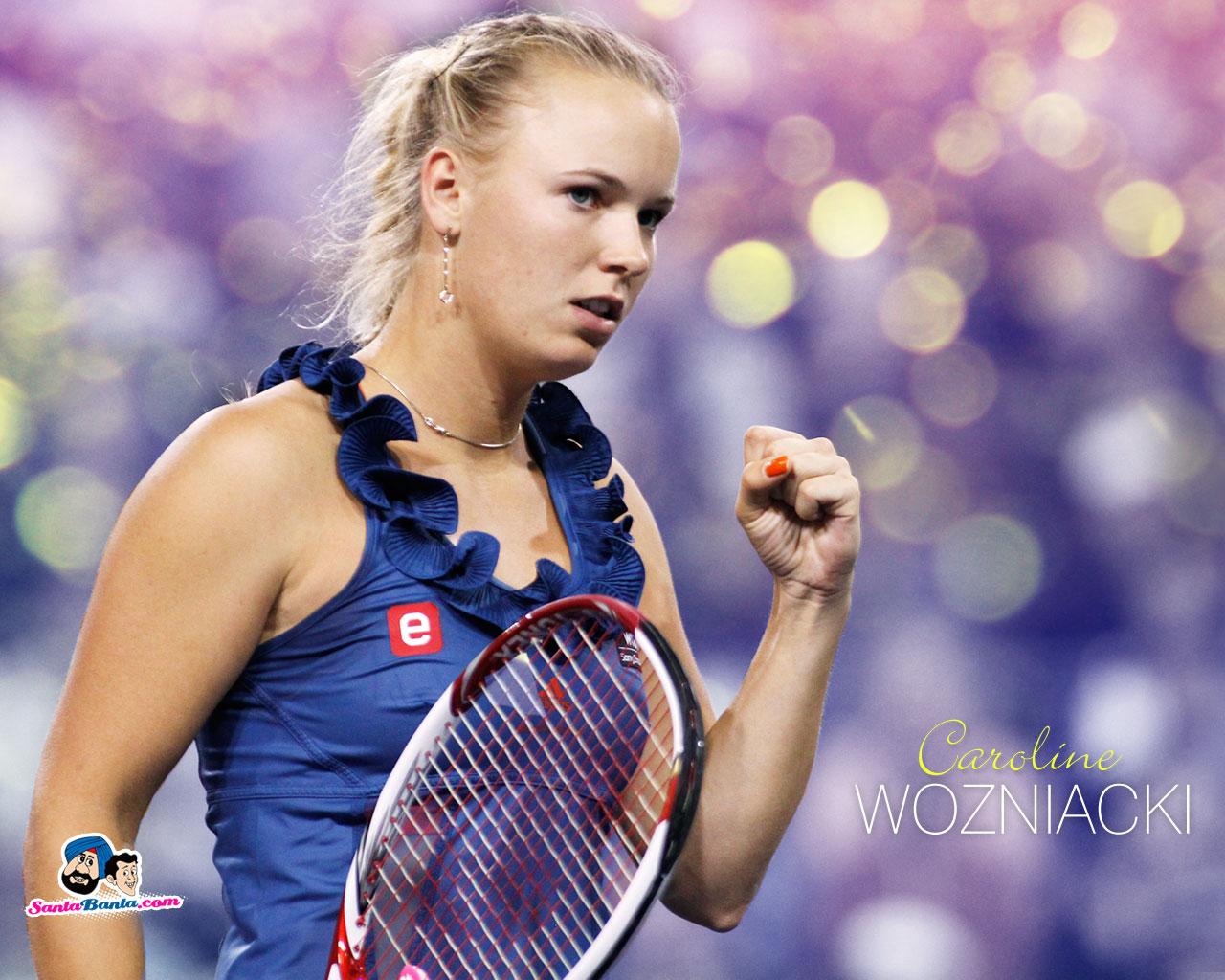 Top Sports Players Caroline Wozniacki Wallpapers