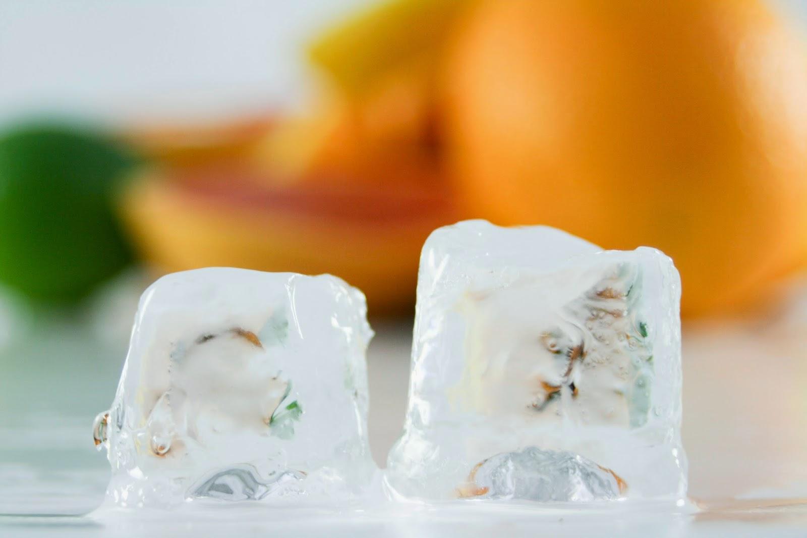 Jak na vosk pomocí ledu