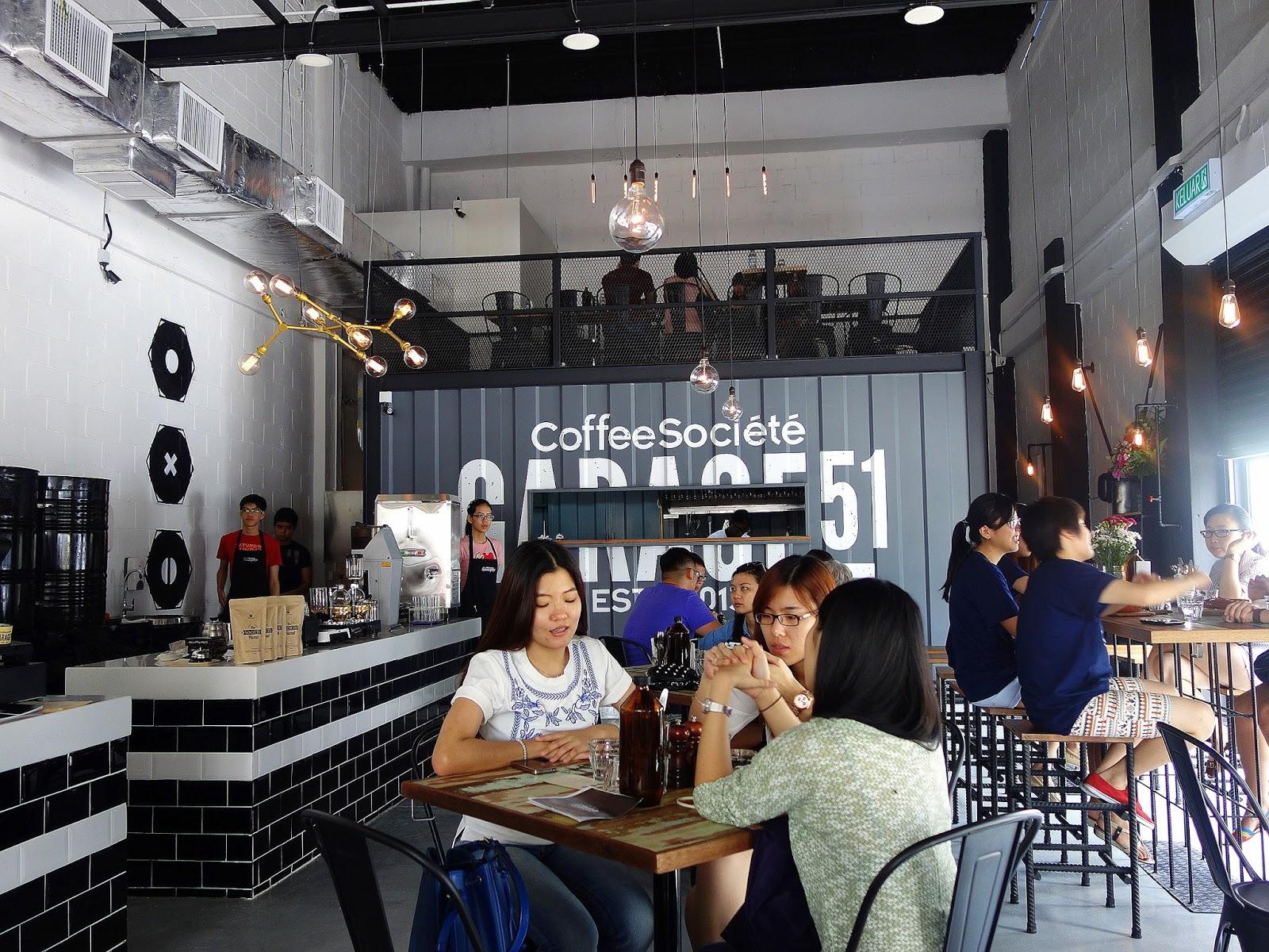 Eat drink kl garage by coffee societe bandar sunway