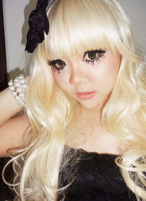 gyaru makeup