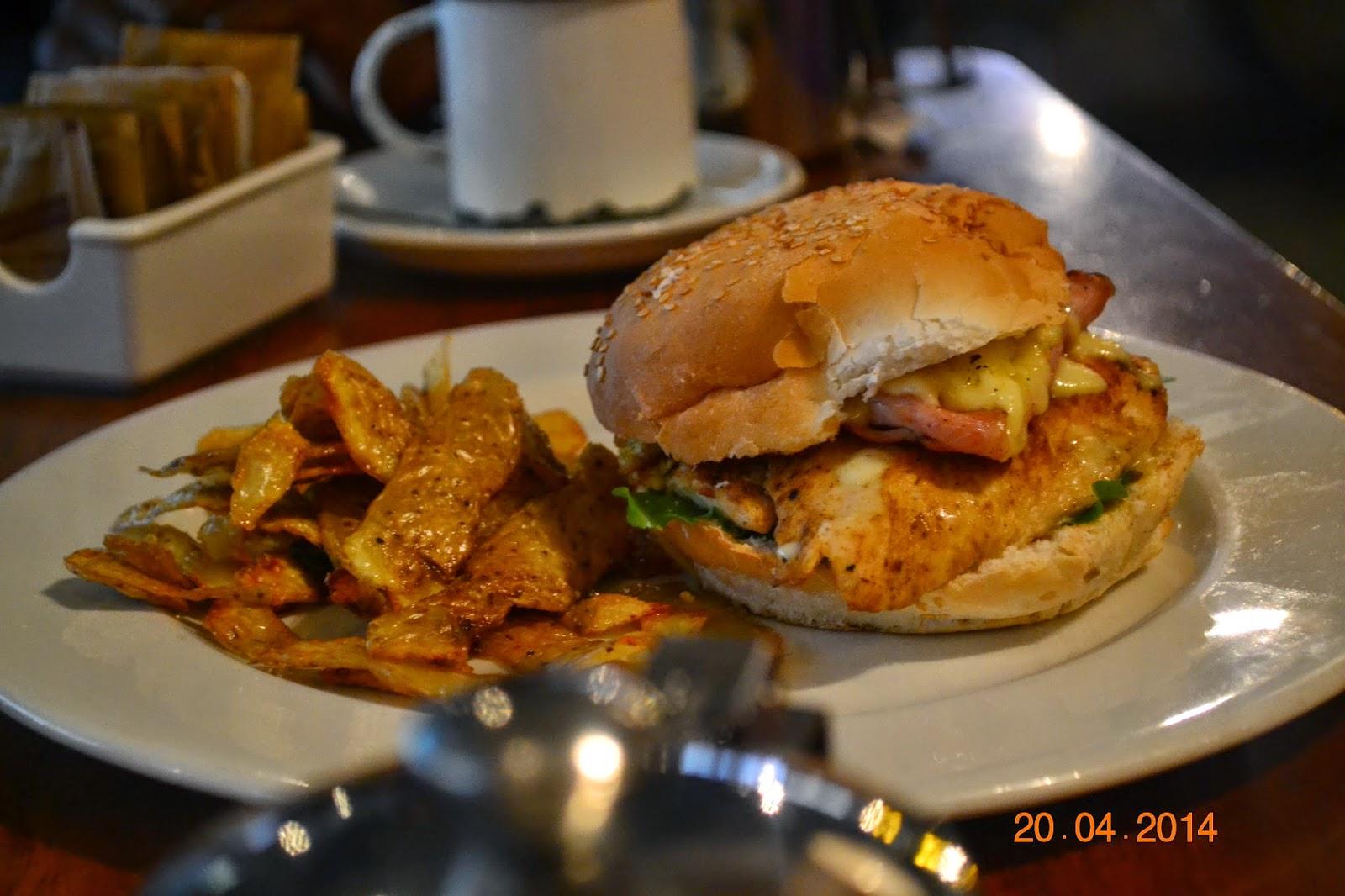 chicken burger pata pata maboneng precinct