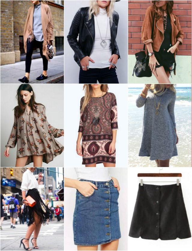 One to Nothin': Fall Fashion Trends
