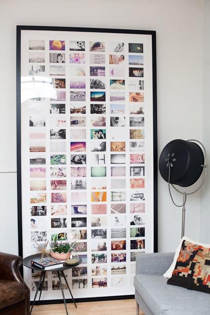 tavla med många bilder