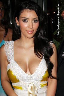 Kim Kardashian Hot Celebrity Girl