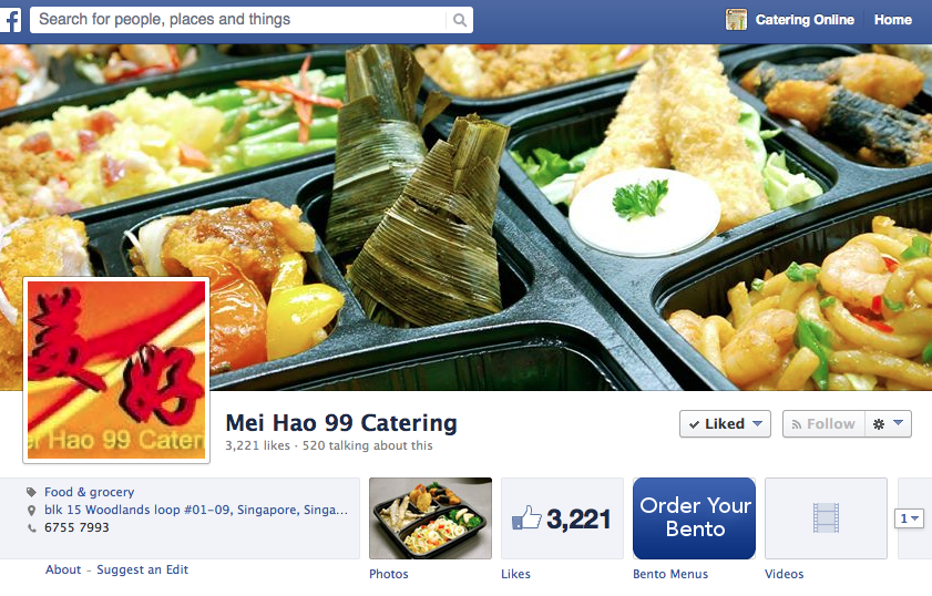Mei Hao Catering - buffet catering, mini buffets, bento delivery