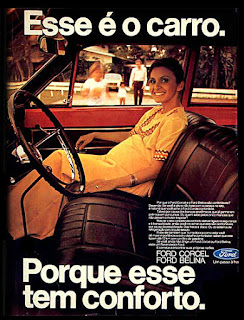 Ford Corcel Belina, Ford,  anos 70. .brazilian advertising cars in the 70. os anos 70. história da década de 70; Brazil in the 70s; propaganda carros anos 70; Oswaldo Hernandez;