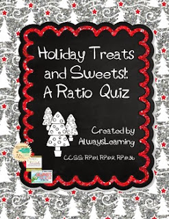 http://www.teacherspayteachers.com/Product/Holiday-Treats-and-Sweets-A-Ratio-Quiz-978791