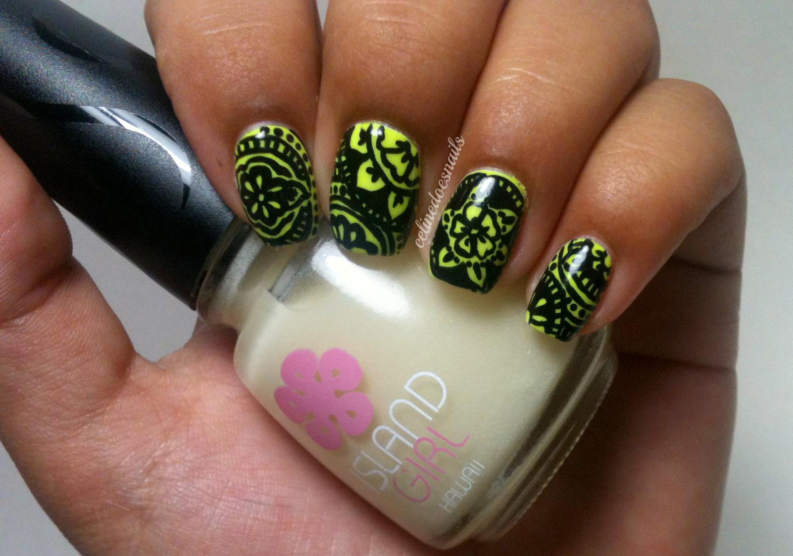 Nail Art Style: Island Girl Polishes- Sugar Cane & Plain Glow in the ...