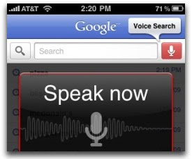 Google Voice Search added in 13 New Languages