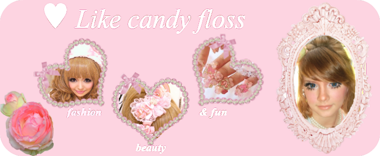 ♥ Like candy floss