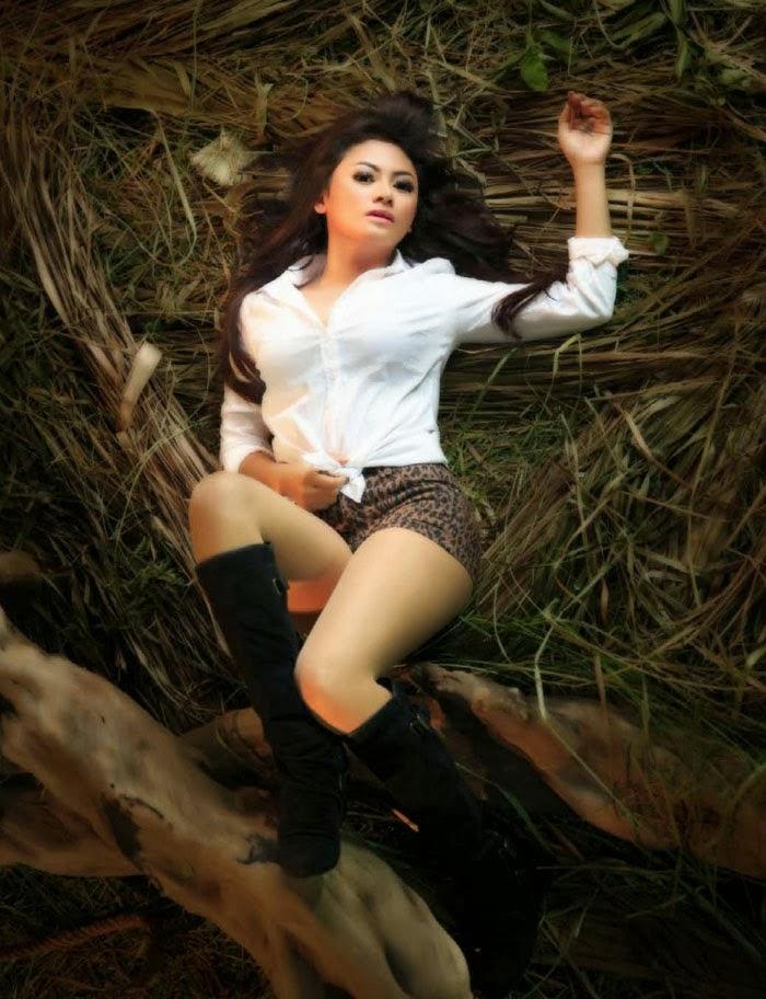 Vitalia Shesya for Male Magazine November 2013 Photoshoot