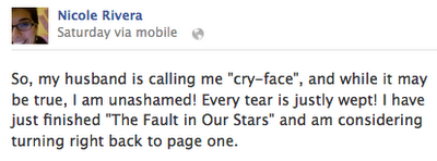The Fault In Our Stars FB Conclusion
